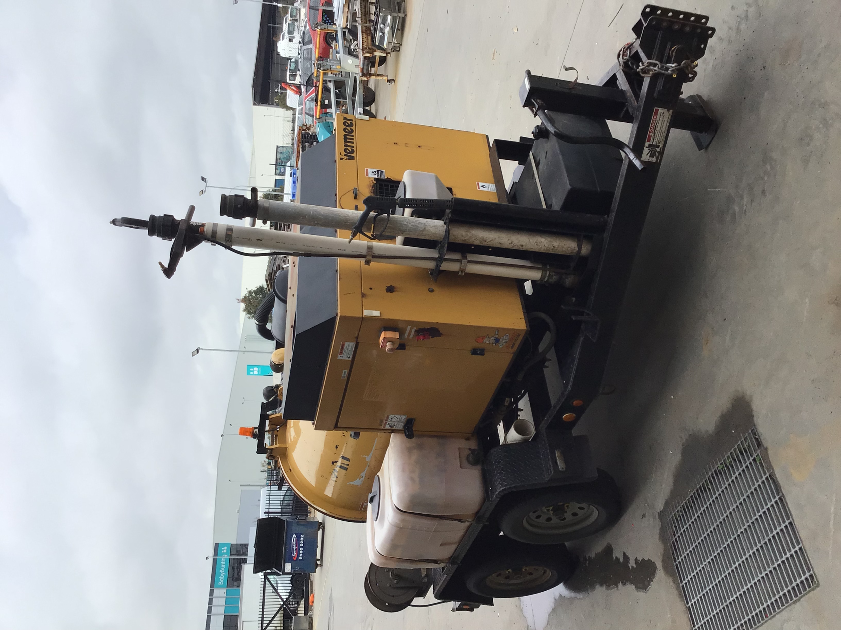 2013 Vermeer V250 Tandem Axle Vacuum Trailer
