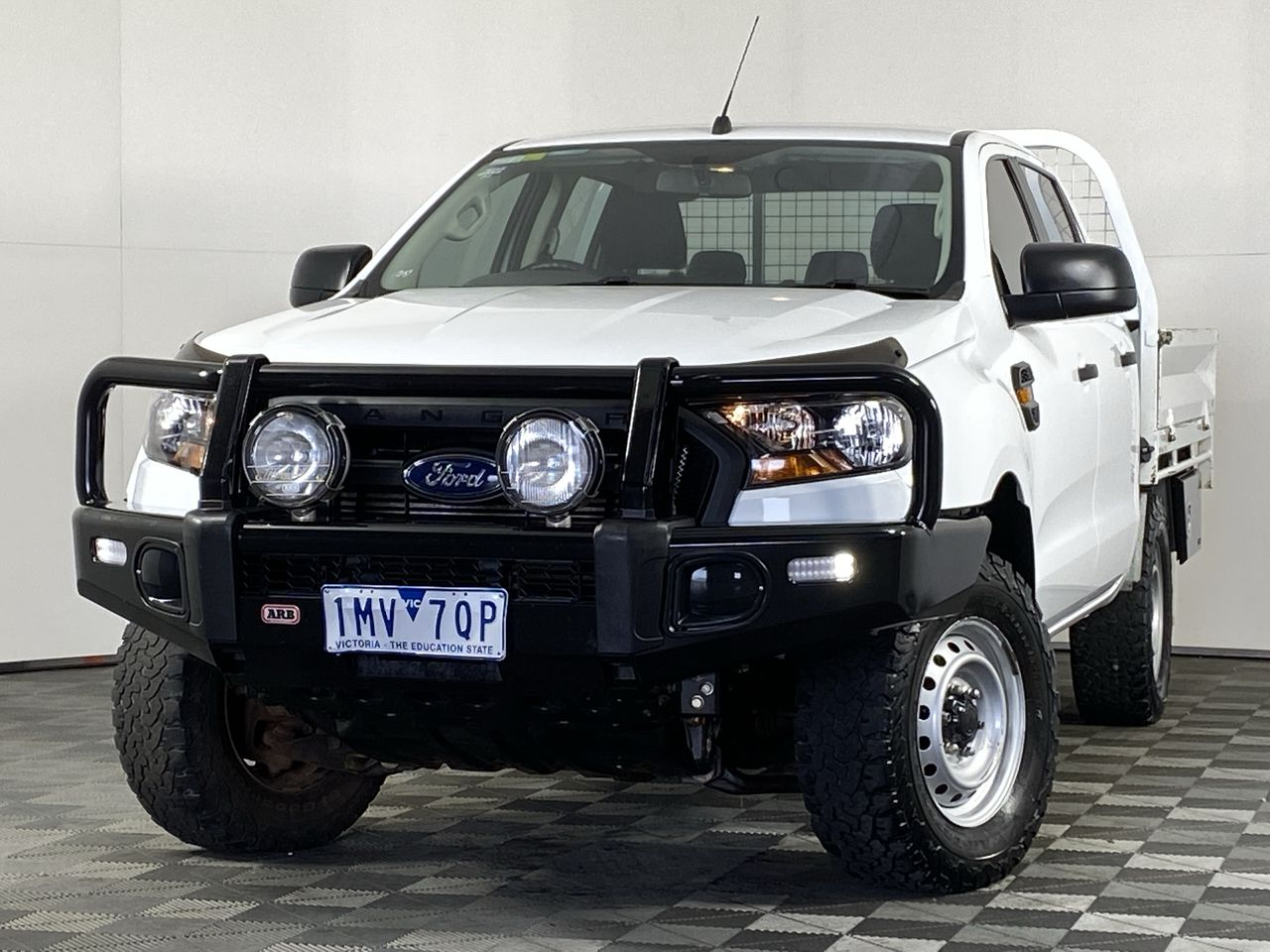 2018 Ford Ranger XL 4X4 PX II Turbo Diesel Automatic Crew Cab Chassis