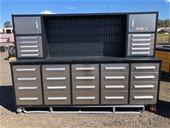 2021 Unused 30 Drawer Work Bench / Tool Cabinets