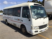 Unreserved Coaster Buses, Hilux & Construction Equipment