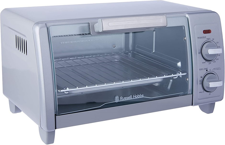 RUSSEL HOBBS Bake Expert Toaster Oven, Bake, Grill. Buyers Note - Discount