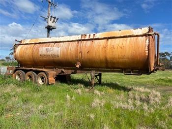 Tri Axle Water Tanker