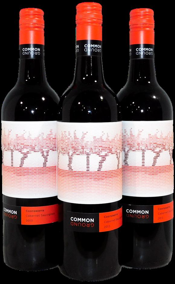 Jim Brand Common Ground Cabernet Sauvignon 2013 (3x 750mL), Coonawarra
