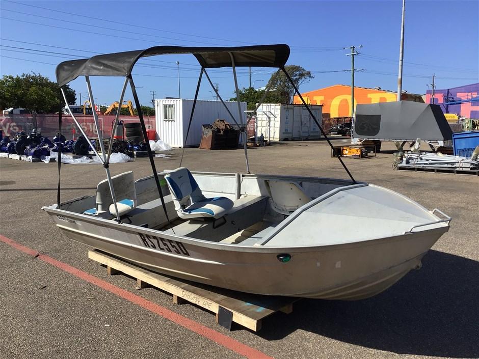 Clark Cygnet Aluminum 4.1m Boat