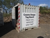 10' Cube Container with Tag Board