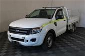 2013 Ford Ranger XL 4X2 PX Turbo Diesel Manual Ute