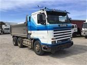 1997 Scania  113M 6 x 4 Tipper Truck