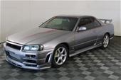 1998 NISSAN Skyline GT Turbo Manual Coupe