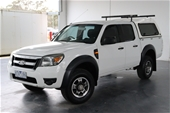 Unreserved 2010 Ford Ranger XL 4X2 PK T/D Automatic Dual Cab