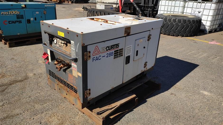 FSCURTIS FAC-28B Enclosed Compressor