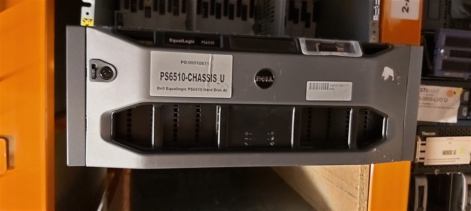 """60TB Dell Equallogic PS6510 Chassis LFF 48x 3.5"""""""