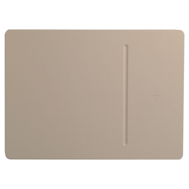 POUT Hands 3 Pro Wireless Charging Mouse Pad, Latte Cream. N.B. Damaged box