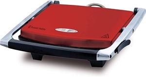 RUSSELL HOBBS Sandwich Press, Red, Model