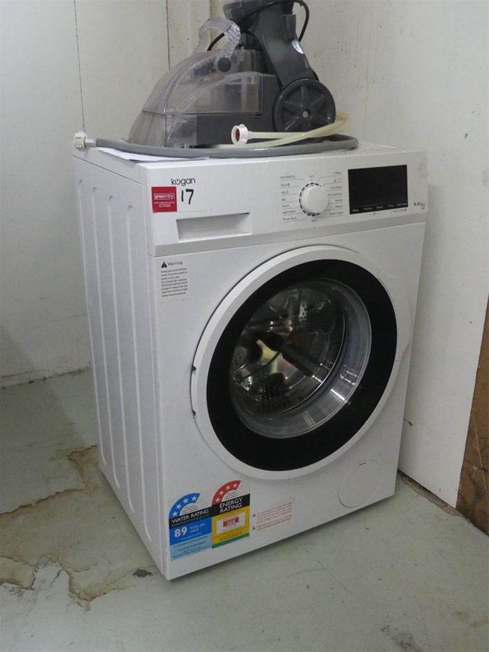 Front Load Washing Machine and Upright Carpet Cleaner