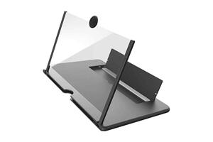 Mobile Phone Screen Magnifier Black