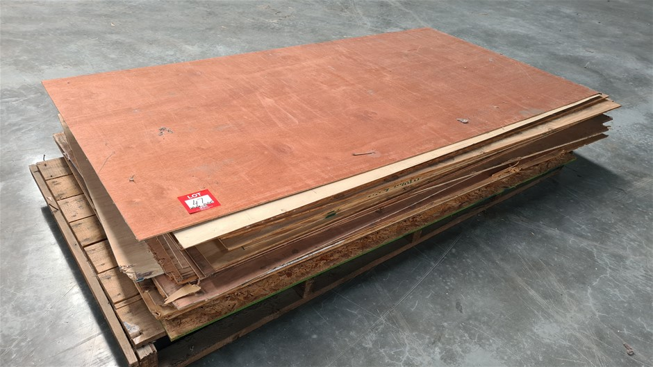 Pallet of Assorted MDF Sheets