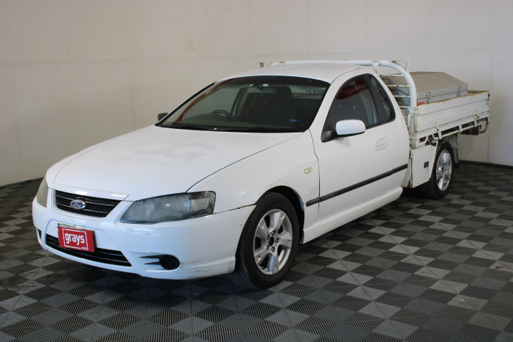 2008 Ford Falcon XLS BF II Automatic Ute