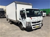 <p>2012 Mitsubishi Canter Fuso 4 x 2 Pantech Truck with Tailgate Loader</p>