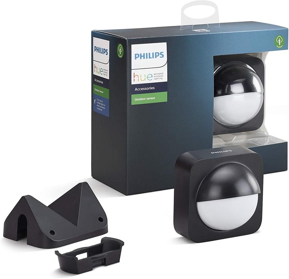 PHILIPS Hue Dusk to Dawn Outdoor Motioin Sensor, Wireless, Multicolour. Buy