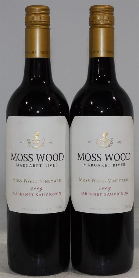 Moss Wood Cabernet Sauvignon 2009 (2 x 750mL), Margaret River, WA.