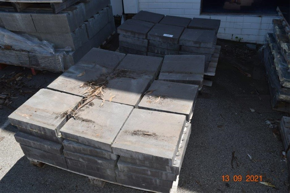 Lot of 75 Solid Pavers