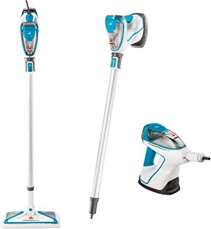 BISSELL Powerfresh Slim Steam Cleaner System, 2233F Steam Mop, Disco Teal,