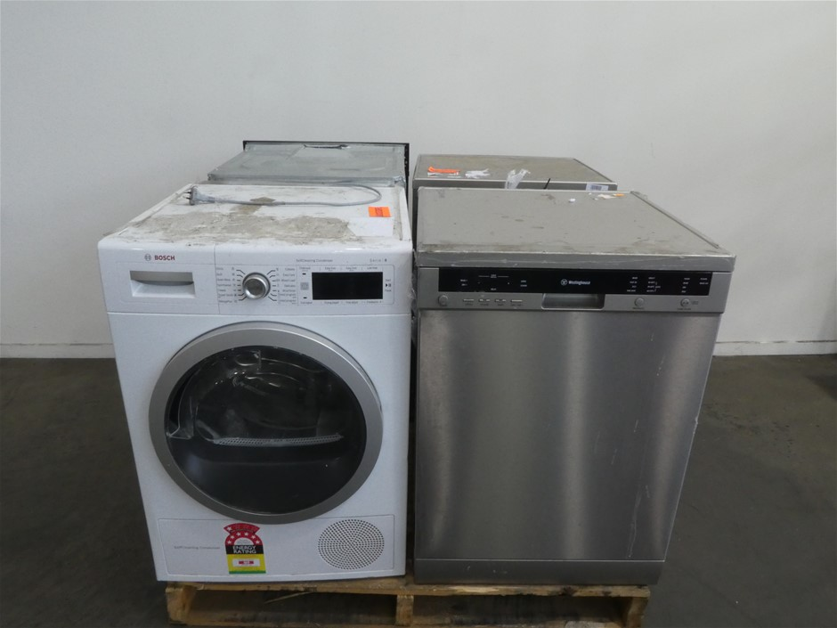 Pallet of Assorted Big Brand USED/UNTESTED Whitegoods Appliances
