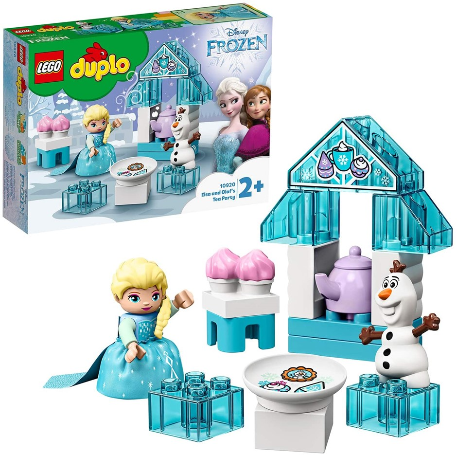 2 x LEGO DUPLO Disney Frozen Toy Featuring Elsa and Olaf's Tea Party. Buyer