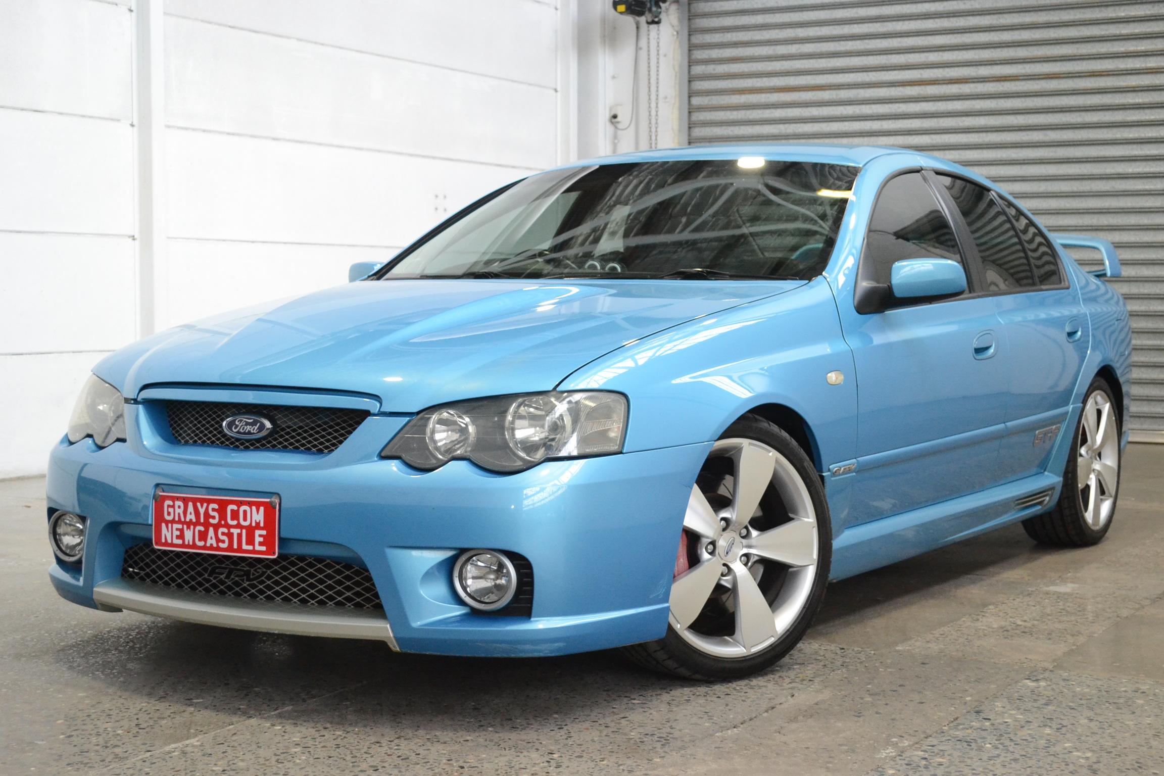 2005 FPV GT-P BA II Automatic Sedan Velocity Blue #0227