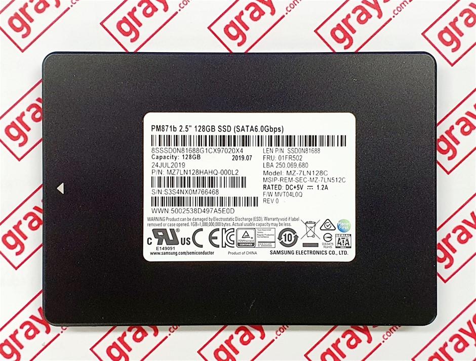 Samsung PM871 128GB 2.5`` SSD SATA Solid State Drive