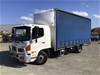 <p>2010 Hino FD 500 4 x 2 Curtainsider Rigid Truck</p>