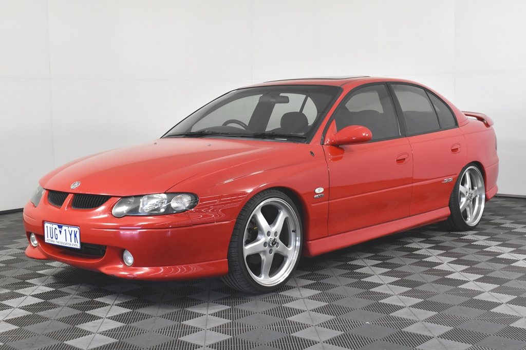 2002 Holden VX Commodore SS (Supercharged) V8 Manual Sedan