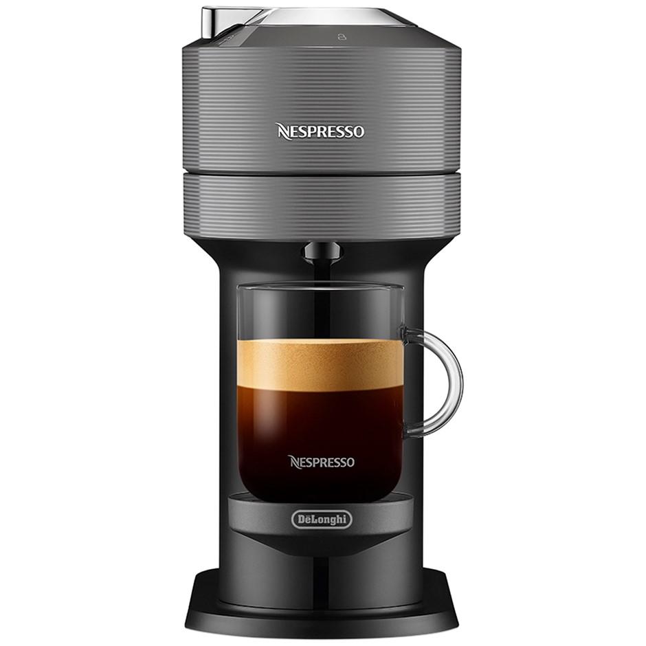 NESPRESSO Vertuo Next Solo Capsule Coffee Machine, Grey. N.B. Minor use & n