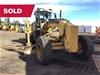 SOLD - Caterpillar 140M Motor Grader