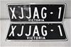 XJJAG 1 - Custom Plates