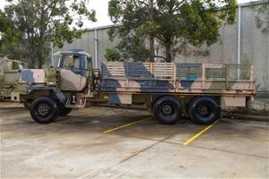 6X6 Flat top truck - incomplete & not op