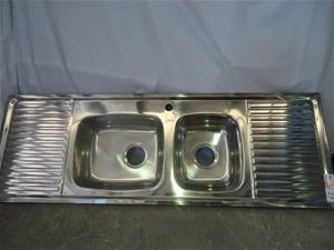 Clark kitchen sink approx 1380mm x 470mm Auction (0013-7115296 ...