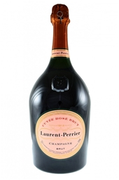 Laurent-Perrier Cuvée Rosé NV (1 x 1.5L Magnum), Champagne, France.