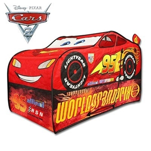 sports shoes 4e3c6 bacf8 Disney Pixar Cars Lightning McQueen Vehicle Pop Up Play Tent - 140cm x 70cm