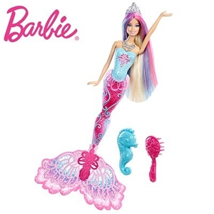 Barbie Colour Change Mermaid Doll With Hair