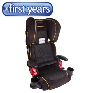 The First Years Pathway B550AU Folding Adjustable Booster Car Seat With Cup