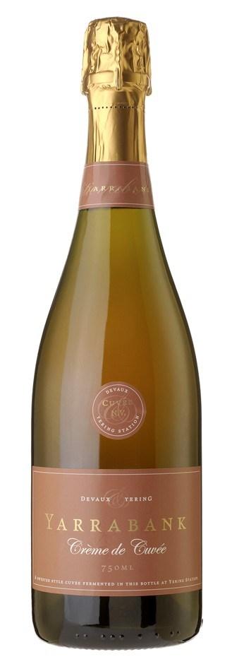 Yarrabank `Crème de Cuvée` NV (6 x 750mL), Yarra Valley, VIC.