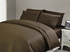 1200 TC Flat Sheet Single Chocolate