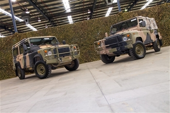 LAND ROVERS (INCOMPLETE & NOT OPERATIONAL)