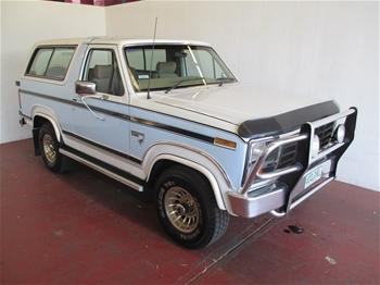 1985 ford bronco xlt wagon. Black Bedroom Furniture Sets. Home Design Ideas