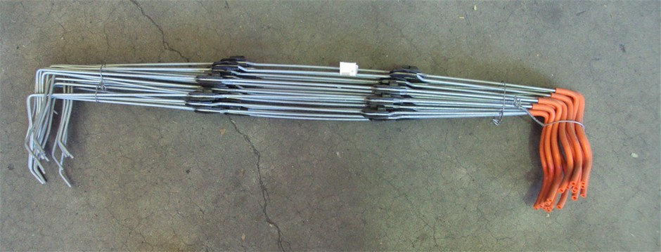 20 4 Wire Insulated Lightning Fence Droppers 26cm Spacing