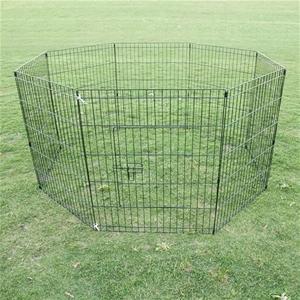 """30"""" 8 Panel Pet Playpen Fence Enclosure"""