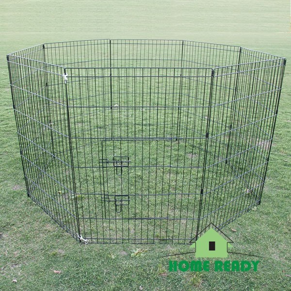 "36"" 8 Panel Pet Playpen Fence Enclosure"