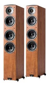 Jamo C607 Floorstanding Speakers Pair Dark Le
