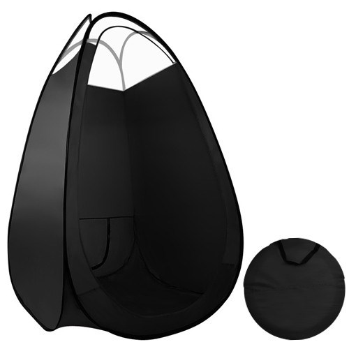 Minetan Portable Pop Up Tanning Tent - Black